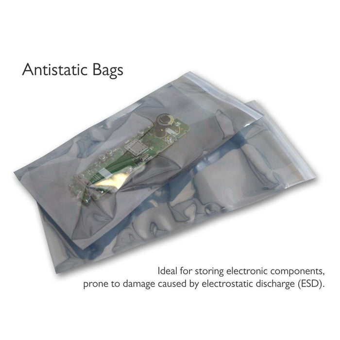 Antistatic Bags 130 x 80mm [Qty 1,000] (2131327647833)