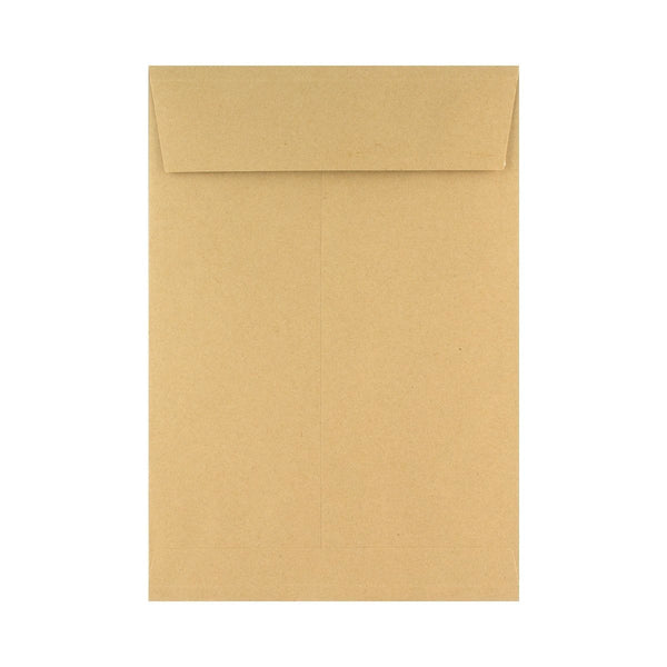 B4 Manilla Gusset Pocket Envelopes 140gsm Peel & Seal [Qty 125] 250 x 352 x 25mm (2131119472729)