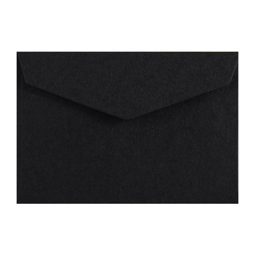 Black Business Card Envelopes 120gsm Peel & Seal [Qty 250] 62 x 94mm