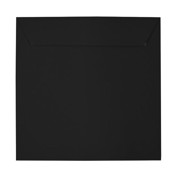 220 x 220 Square Black Peel & Seal Envelopes [Qty 250] (2131304448089)