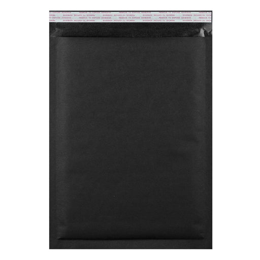 C3 Matt Black Padded (Paper Finish) Bubble Envelopes [Qty 50] 320 x 450mm
