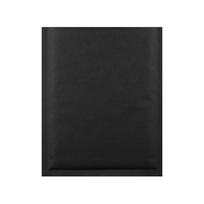 190 x 270 Matt Black Padded (Paper Finish) Bubble Envelopes [Qty 100] (2131024085081)