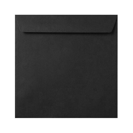 155 x 155 Black 120gsm Peel & Seal Envelopes [Qty 500] (2131019694169)