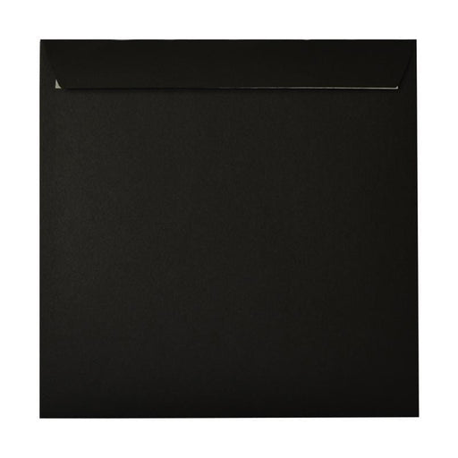 220 x 220 Black Luxury 180gsm Peel & Seal Envelopes [Qty 250] (2131019497561)