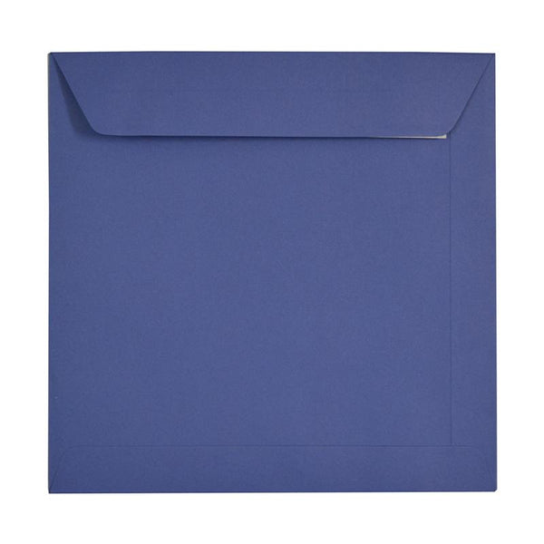230 x 230 Square Blue Peel & Seal Envelopes [Qty 250] (2131286917209)