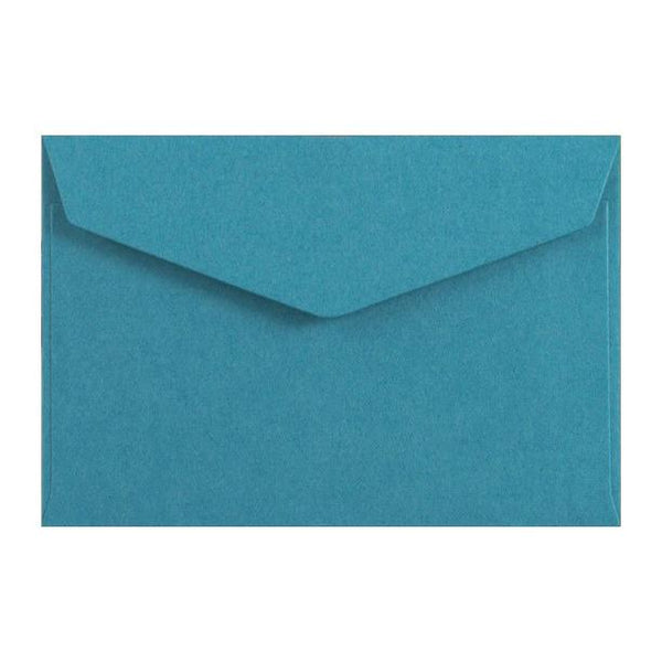 Blue Business Card Envelopes 120gsm Peel & Seal [Qty 250] 62 x 94mm