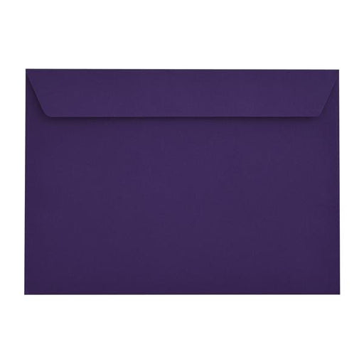 C4 Blackcurrant Purple 120gsm Peel & Seal Envelopes [Qty 250] 229 x 324mm