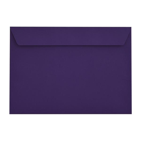 C4 Blackcurrant Purple 120gsm Peel & Seal Envelopes [Qty 250] 229 x 324mm (2131281838169)