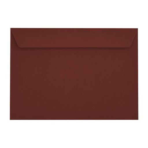 C4 Claret Bordeaux 120gsm Peel & Seal Envelopes [Qty 250] 229 x 324mm