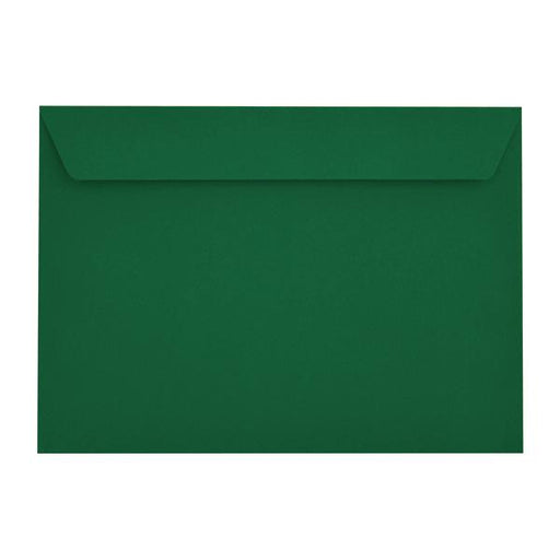 C4 British Racing Green 120gsm Peel & Seal Envelopes [Qty 250] 229 x 324mm