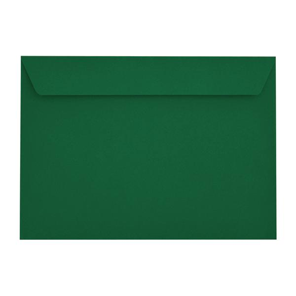 C4 British Racing Green 120gsm Peel & Seal Envelopes [Qty 250] 229 x 324mm (2131050070105)