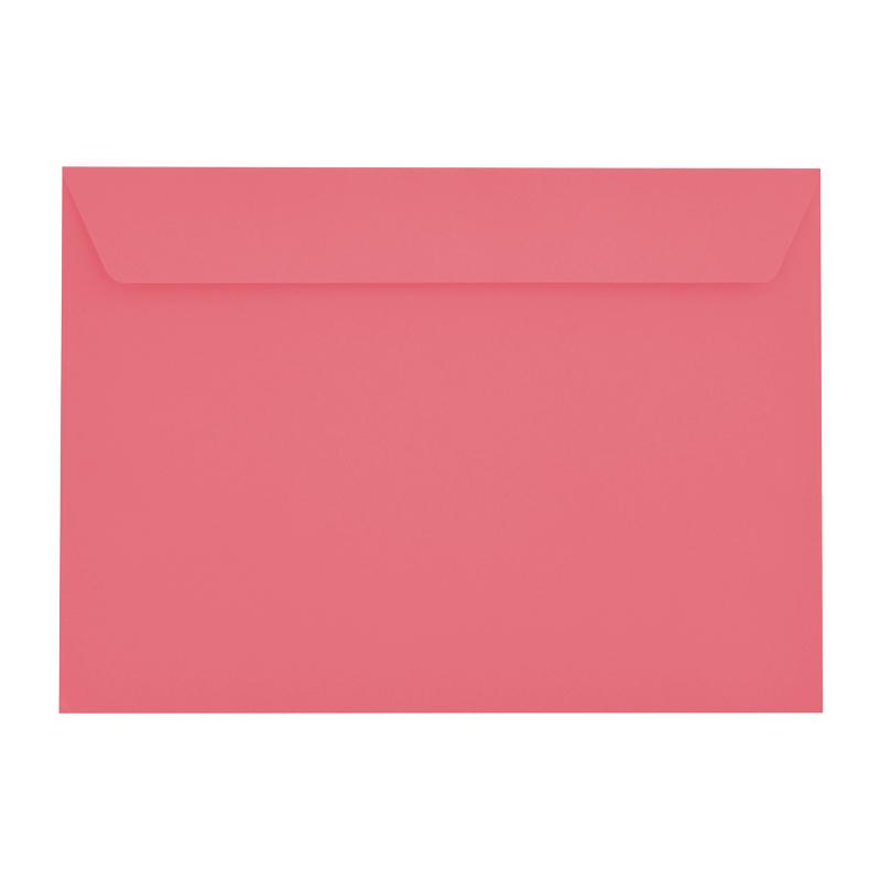 C5 Cerise Pink 120gsm Peel & Seal Envelopes [Qty 500] (2131302907993)