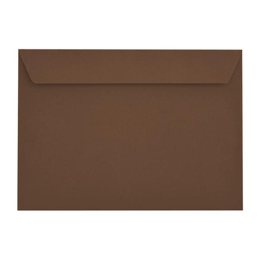 C4 Earth Brown 120gsm Peel & Seal Envelopes [Qty 250] 229 x 324mm (2131051315289)