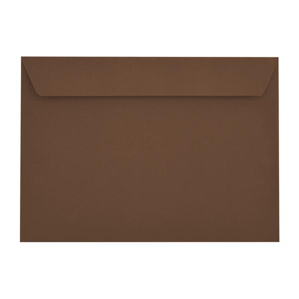 C5 Earth Brown 120gsm Peel & Seal Envelopes [Qty 500] 162 x 229mm