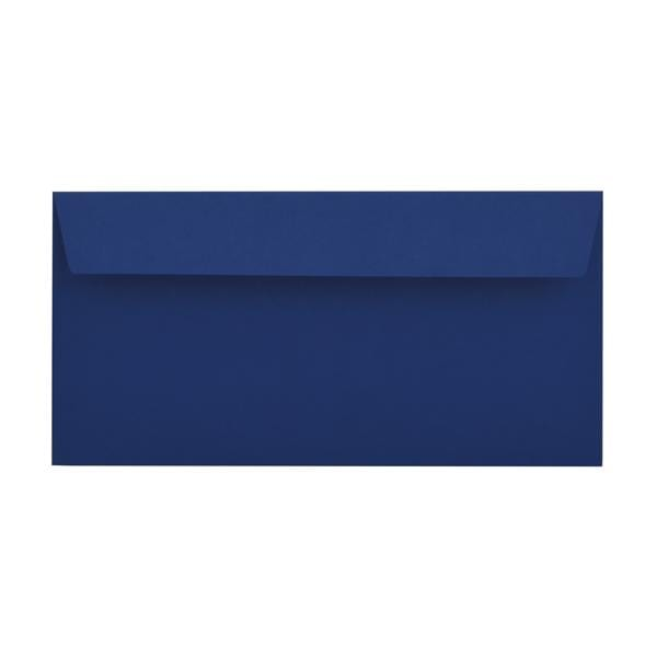 DL Victory Blue 120gsm Peel & Seal Envelopes [Qty 250] 114 x 229mm