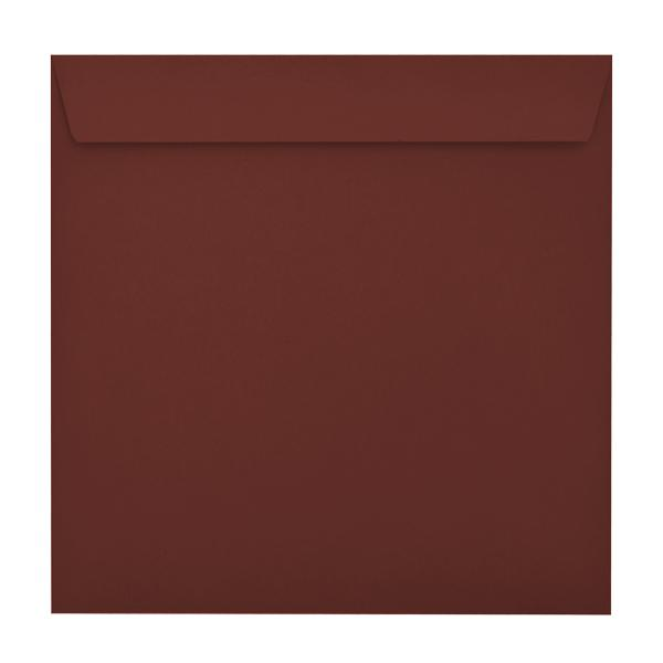 220 x 220 Square Claret Bordeaux 120gsm Peel & Seal Envelopes [Qty 250] (2131052691545)