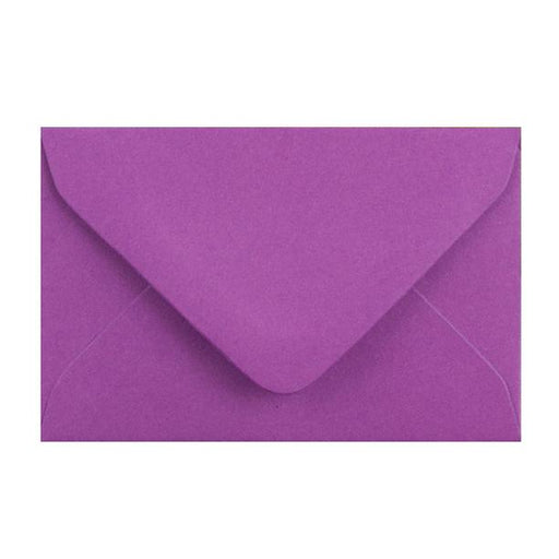 Purple Business Card Envelopes 100gsm [Qty 250] 62 x 94mm