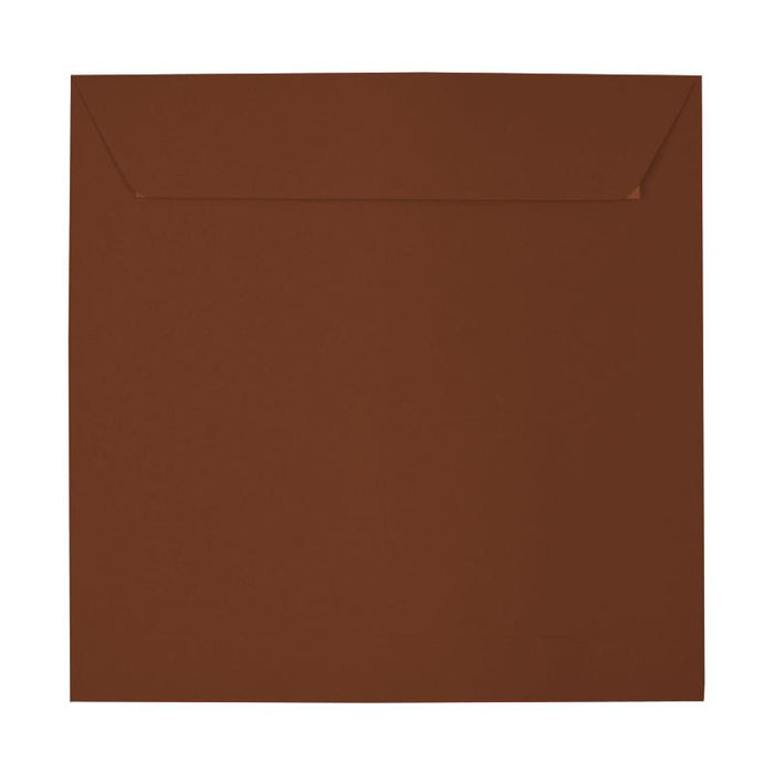 220 x 220 Square Brown Peel & Seal Envelopes [Qty 250] (2131304677465)