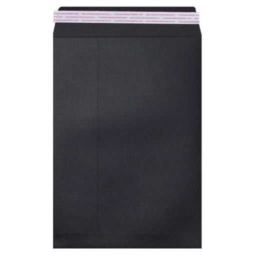 C3 Black Luxury 180gsm Peel & Seal Envelopes [Qty 200] 324 x 457mm (2131345408089)