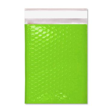 C4 Gloss Lime Green Padded Bubble Envelopes [Qty 100] 240mm x 340mm (2167700324441)