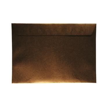 C4 Pearlescent 120gsm Antique Bronze Peel & Seal Envelopes [Qty 125] 229 x 324mm