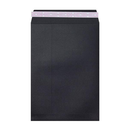 C4 Black Luxury 180gsm Peel & Seal Envelopes [Qty 200] 229 x 324mm (2131058098265)