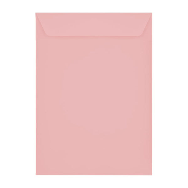 C4 Baby Pink 120gsm Peel & Seal Envelopes [Qty 250] 229 x 324mm