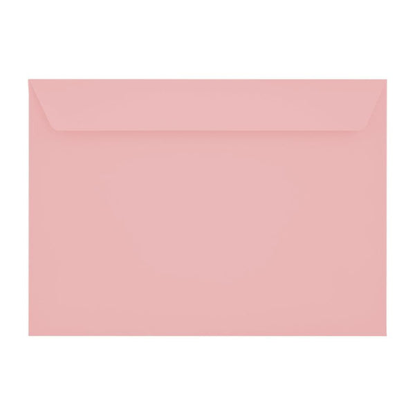 C5 Baby Pink 120gsm Peel & Seal Envelopes [Qty 250] 162 x 229mm (2131250839641)