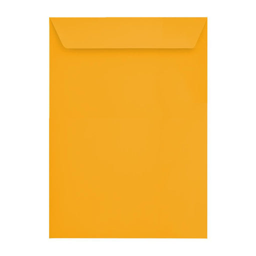 C4 Bright Gold 120gsm Peel & Seal Envelopes [Qty 250] 229 x 324mm