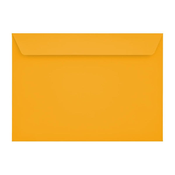 C5 Bright Gold 120gsm Peel & Seal Envelopes [Qty 250] 162 x 229mm (2131095683161)