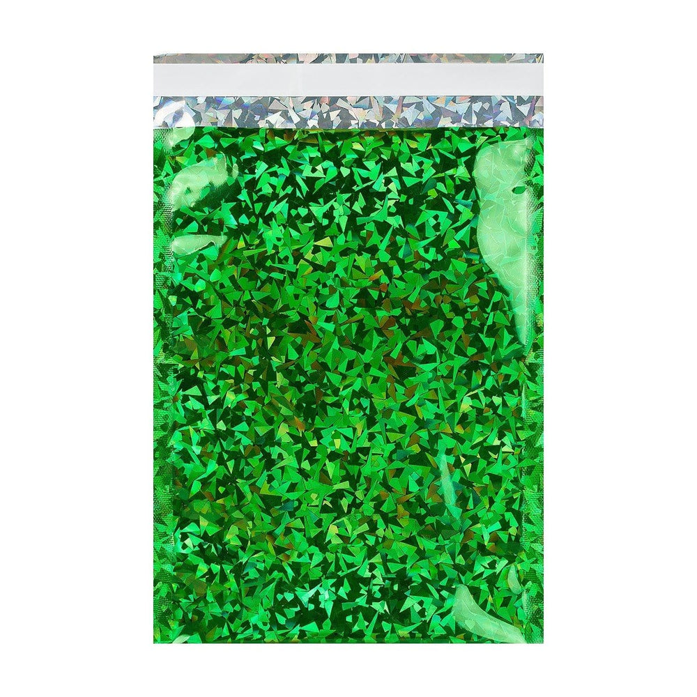 C3 Green Holographic Foil Bags [Qty 100] 320 x 450mm (2131389612121)