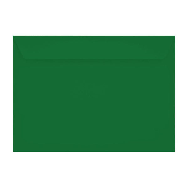 C5 Holly Green 120gsm Peel & Seal Envelopes [Qty 250] 162 x 229mm (2131096240217)