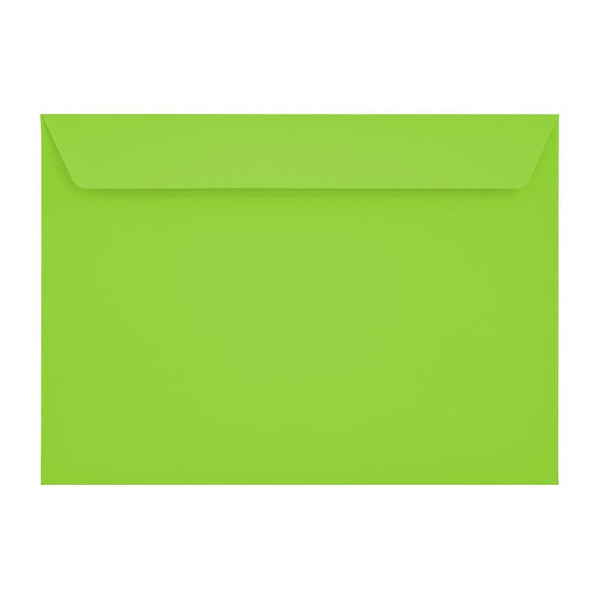 C5 Lime Green 120gsm Peel & Seal Envelopes [Qty 250] 162 x 229mm (2131096141913)