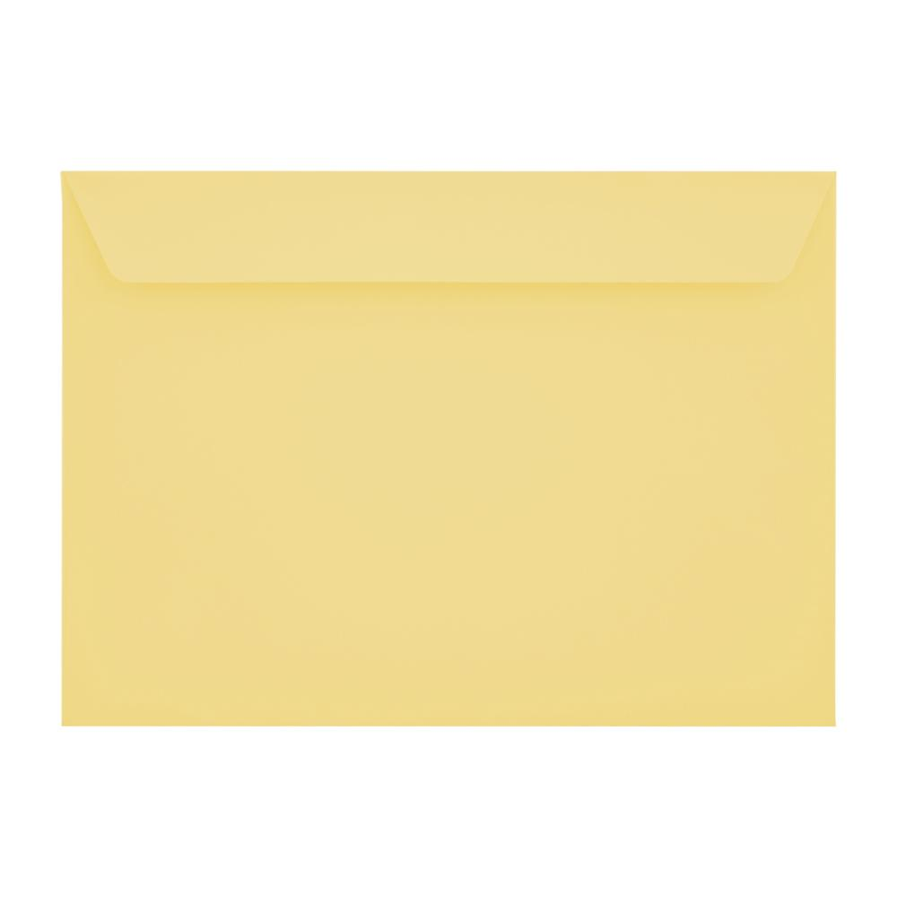 C5 Sunlight Yellow 120gsm Peel & Seal Envelopes [Qty 500] 162 x 229mm (2131250872409)