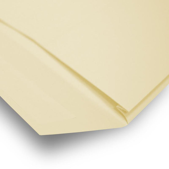 C4 Cream Gusset Window 140gsm Peel & Seal Envelopes [Qty 125] 229 x 324 x 25mm (2131192283225)