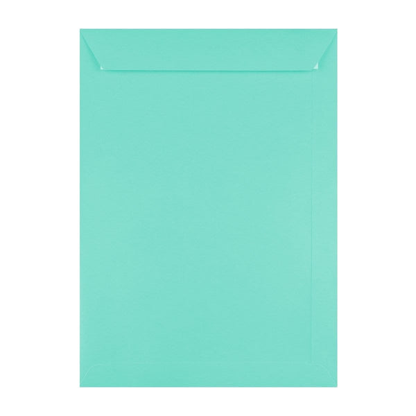 C4 Duck Egg Blue 120gsm Peel & Seal Envelopes [Qty 250] 229mm x 324mm (2131416285273)