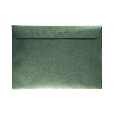 C4 Pearlescent 120gsm Forest Green Peel & Seal Envelopes [Qty 125] 229 x 324mm (2131253624921)
