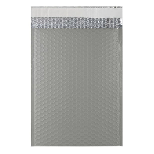 C4 Grey Matt Padded Bubble Envelopes [Qty 100] 230mm x 324mm