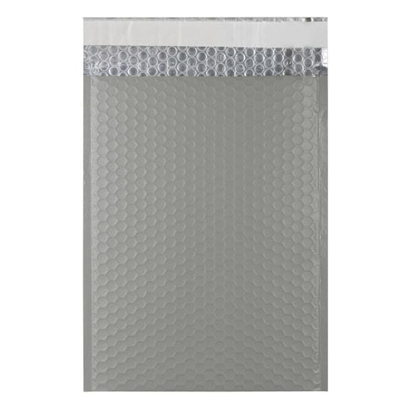 C4 Grey Matt Padded Bubble Envelopes [Qty 100] 230mm x 324mm (2131349995609)