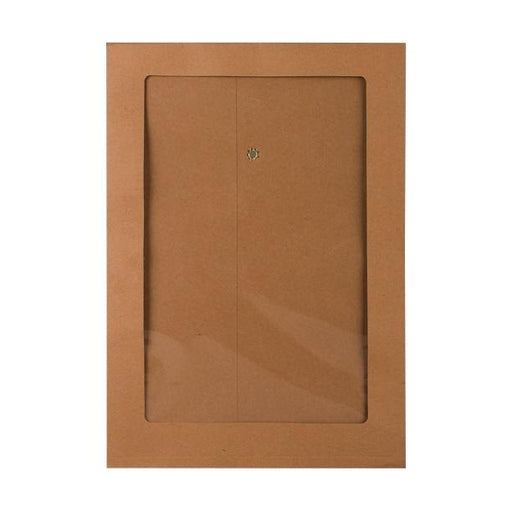 C4 Manilla String & Washer Gusset Window Envelopes [Qty 100] 324 x 229 x 25mm