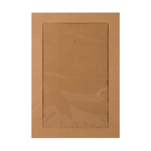 C4 Manilla String & Washer Window Envelopes [Qty 100] 324 x 229mm