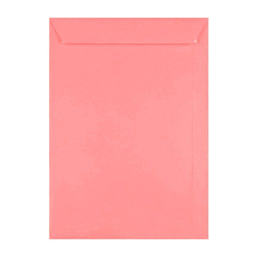 C4 Cerise Pink 120gsm Peel & Seal Envelopes [Qty 250] 229 x 324mm