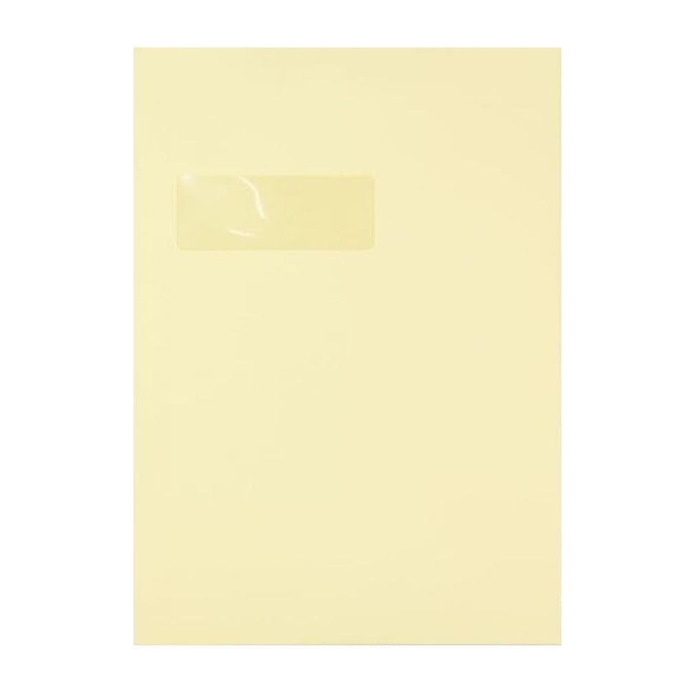 C4 Premium Antique Window 120gsm Peel & Seal Envelopes [Qty 250] 229 x 324mm (2131278430297)