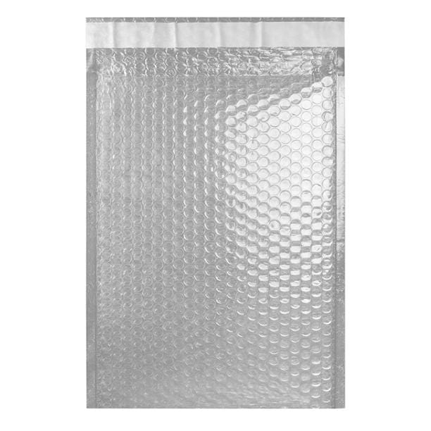 C4 Translucent Metallic Padded Bubble Envelopes [Qty 100] 230mm x 324mm