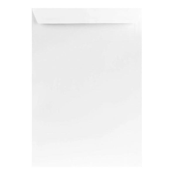 C4 White Prestige Laid 120gsm Peel & Seal Envelopes [Qty 250] 229 x 324mm (2131262046297)