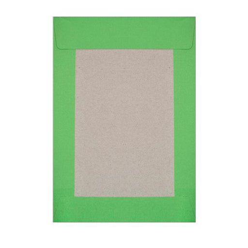 C4 Green Board Back Envelopes [Qty 125] 229 x 324mm
