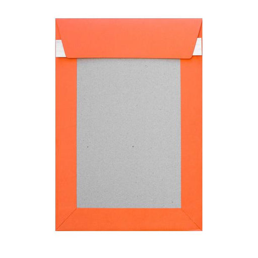 C5 Orange Board Back Envelopes [Qty 125] 162 x 229mm