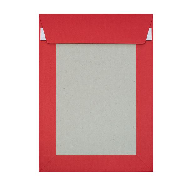 C4 Red Board Back Envelopes [Qty 125] 229 x 324mm (2131296321625)
