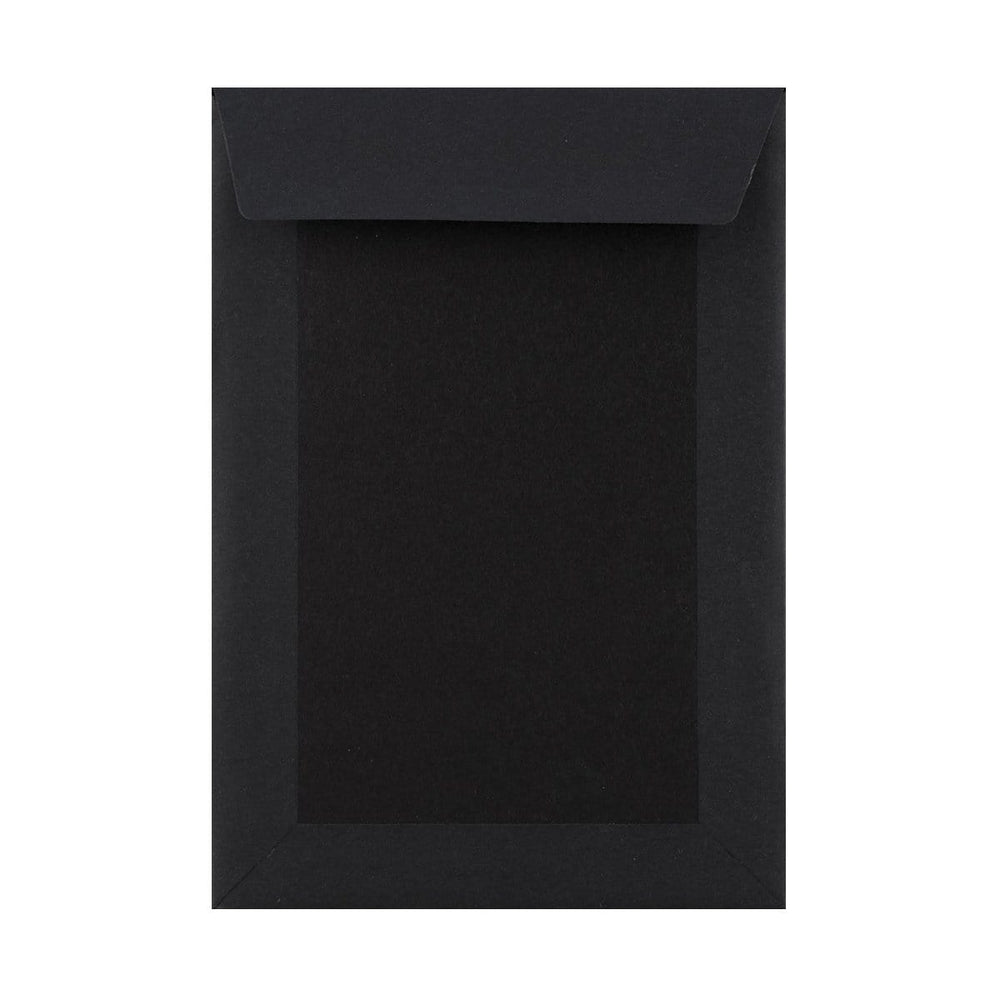 C5 All Black Board Back Envelopes [Qty 125] 162 x 229mm (2131396526169)
