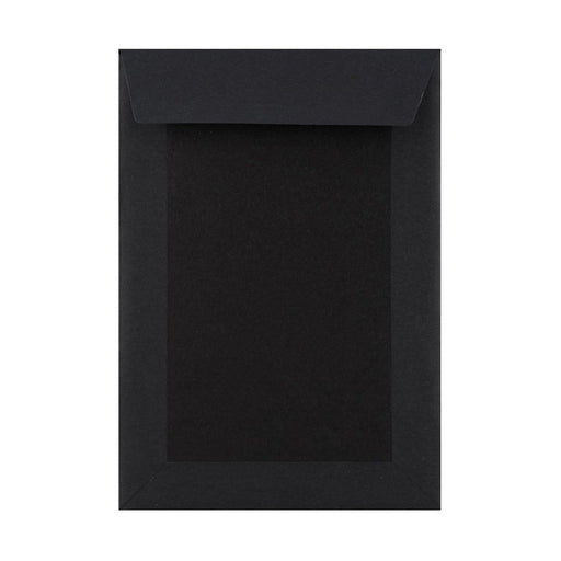 C4 All Black Board Back Envelopes [Qty 125] 229 x 324mm